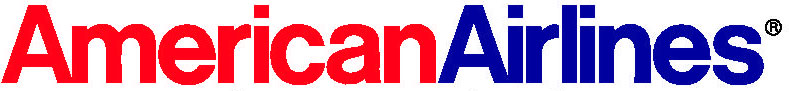 American Airlines logo with Helvetica.