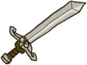 Icono de una espada.