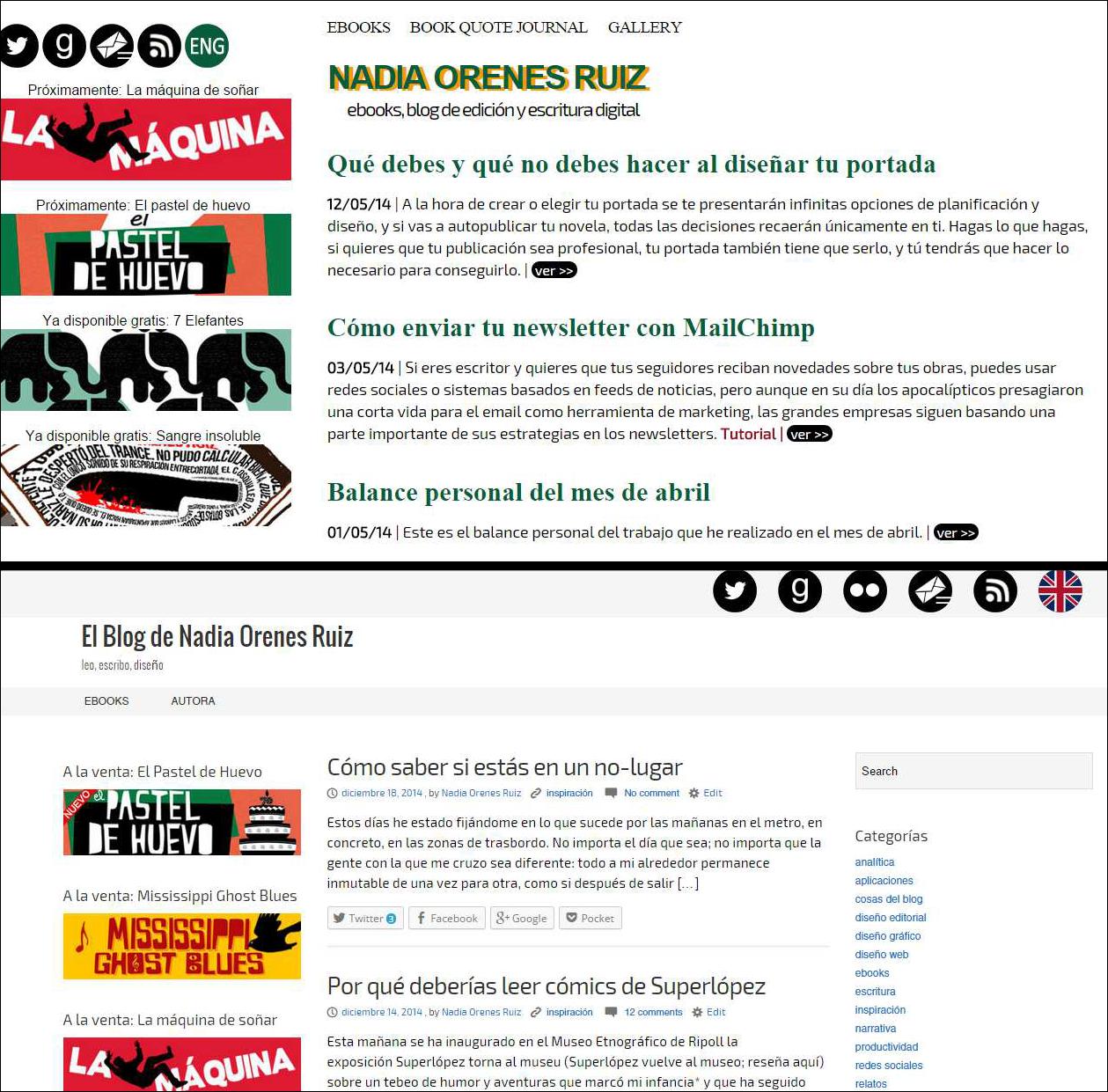 Mi blog antes y después de migrar a WordPress.