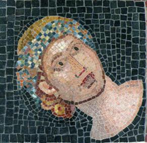 Un mosaico romano.