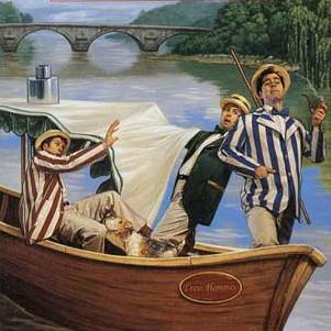 Portada de Three Men in a Boat.