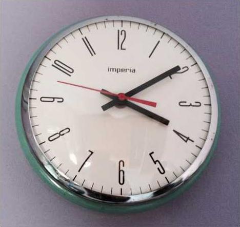 Reloj de Oriol Malet.